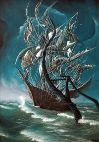 Leviathan 2003 70,7x47 - 180x120sm oil on canvas