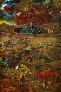 Armageddon 1996 70,7x47 inches - 180x120sm, oil on canvas