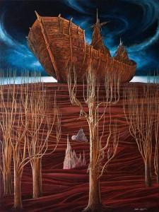 Ark 2014 31,5x23 ,6 oil. canvas