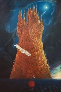 Atlantis 2012, 70,7x47 , oil on canvas