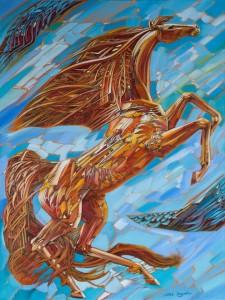 Horse 2015 31,5x23,6 oil on canvas