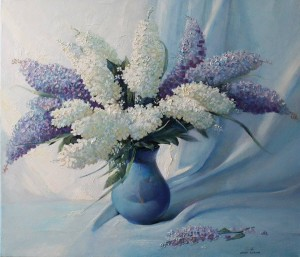 Lilac 2014. 29,9x20,1 oil, canvas