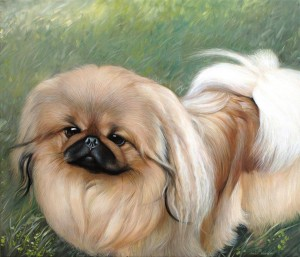Portrait of Leo, 2014, 29, 9x20,1 inches, canvas, oil