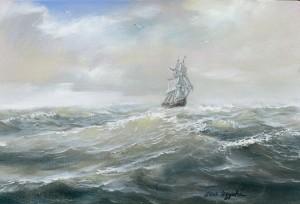Sea 2015 10x15 inches, canvas, oil