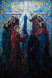 Secret 2015 39,4x59,1 inches, oil, canvas