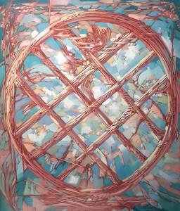 Shanyrak 20,1x29,9 inches,  2015, oil on canvas