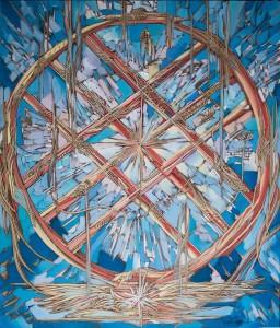 Shanyrak 2015 29,9x20,1 inches, oil, canvas