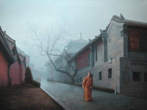 Shaolin  2009 29,9x38,9 inches, oil, canvas