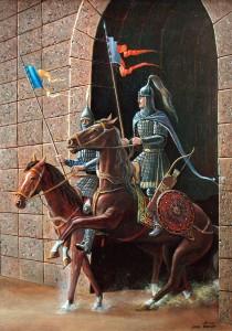 Мамлюки 2004г. 65х50 х.м.