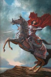 Султан Бейбарс 2003г. 180x120см х.м.
