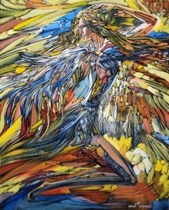 Жар-птица2011г. 51х41см х.м.