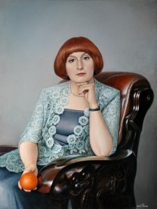 Portrait 2011, 40х30 in., oil on canvas
