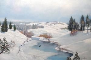 Зима 2011г. 51х76см х.м.
