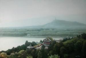 Летний дворец в Пекине 2009г. 51х76см, х.м.