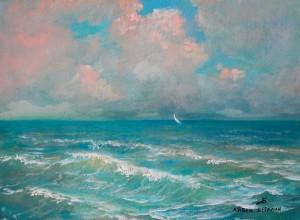 Море 2002г. 25х34,5см к. м. (2)