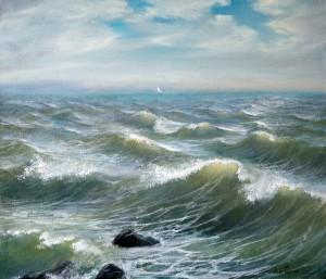 Море 2011г. 60х70см х.м.